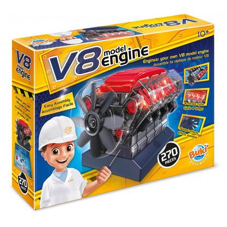 Motor v8, Buki France*