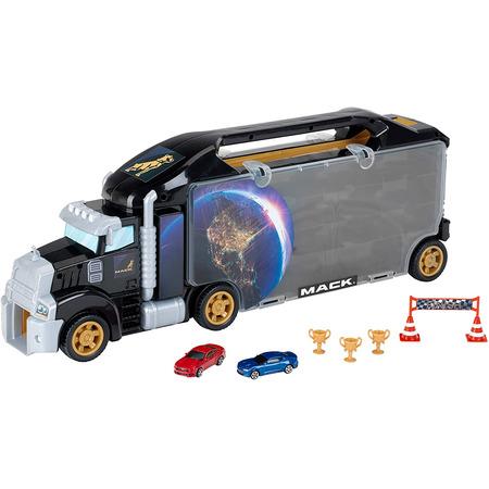 Camion cu rampa de iesire pentru masinute mack, Klein*