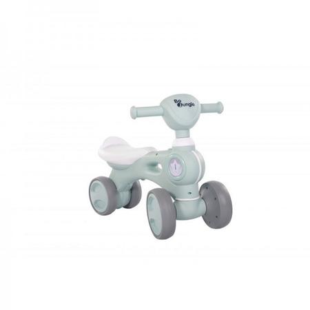 Bicicleta cu 4 roti albastra Bo Jungle pentru copii cu lumini si sunete*