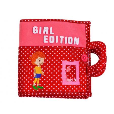 Carticica cu activitati Piqipi - Quiet book Girl Edition*