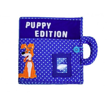 Carticica cu activitati Piqipi - Quiet book Puppy Edition*