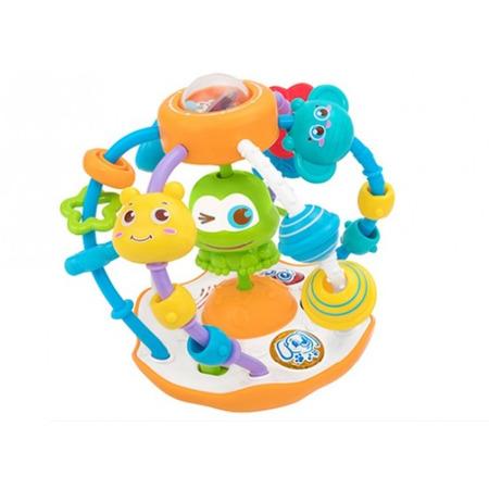 Bila cu activitati Globo pentru copii multicolor cu lumini si sunete*