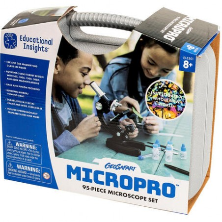 Set microscop ''Micro Pro'' Educational Insights