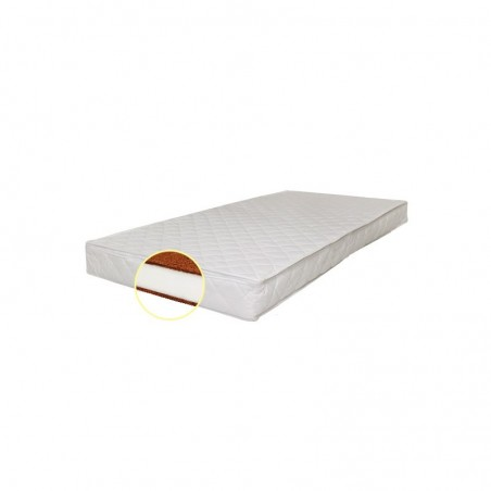 Saltea pentru copii, fibra de cocos, 120 x 60 x 10 cm, Confort II