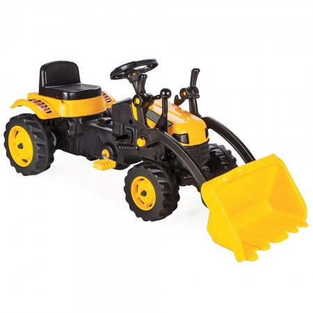 Tractor cu pedale Pilsan Active with Loader 07-315 yellow*