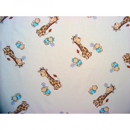 Lenjerie patut Hubners Girafa 4 piese crem