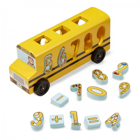 Autobuzul cu numere Melissa and Doug