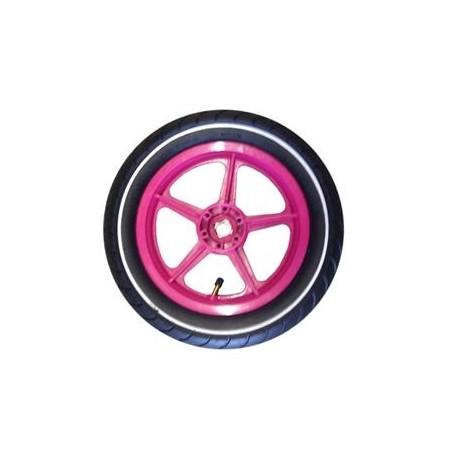 Roata tractiune roz 12.5
