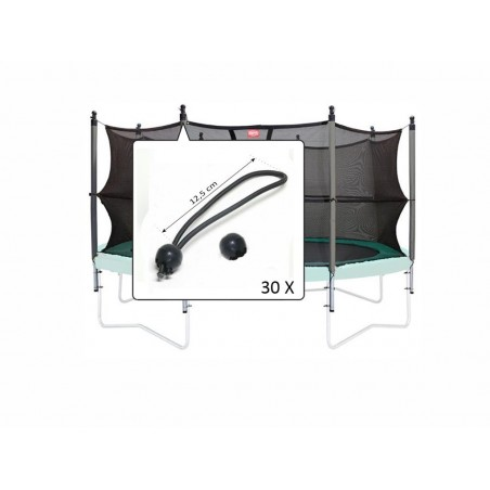 Set elastice prindere plasa de siguranta (30 buc.)
