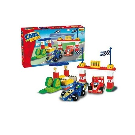 Set constructie Unico Plus Cars for Kidz Set F1