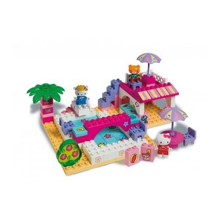 Set constructie Unico Plus Hello Kitty La piscina