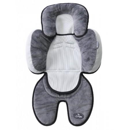 Saltea suplimentara Gri cu negru bebelusi BO Jungle 3 in 1 pentru carucior scaun auto scoica