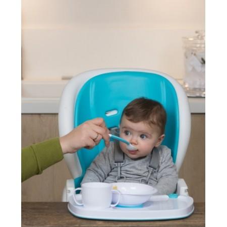 Tavita speciala hranire bebelusi magnetica BO Jungle cu castronel cana si tacamuri incluse