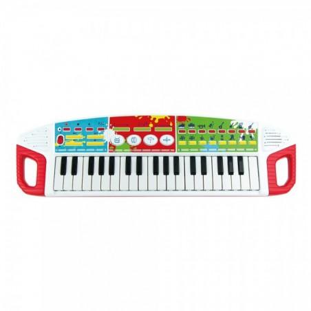 Orga muzicala cu 37 clape Winfun pentru copii